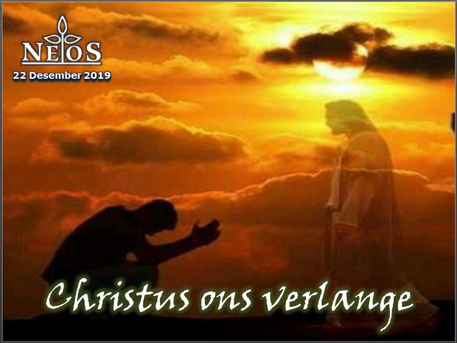 Christus ons verlange