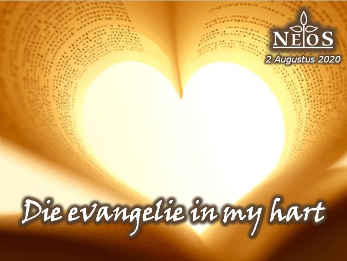 Die evangelie in my hart