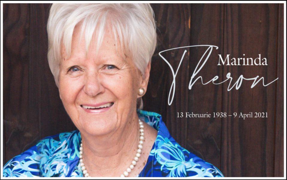 Tannie Marinda Theron Gedenkdiens